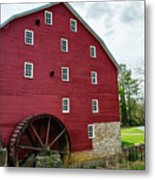 Willow Grove Mill Spring Day Metal Print