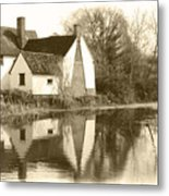 Willy Lots Cottage Metal Print