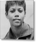 Wilma Rudolph, 1940-1994, Was The First Metal Print