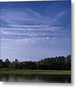Wilmington River Savannah Morning Metal Print