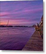Wilmington Waterfront Metal Print