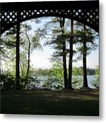 Wilson Pond Framed Metal Print