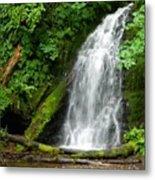 Wilson River Hwy Waterfall Metal Print