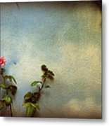Wilting Rose Metal Print