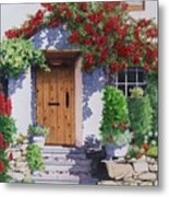 Wiltshire Cottage Metal Print