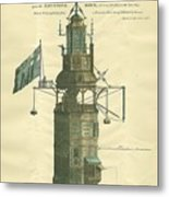 Win Stanley's Lighthouse Metal Print
