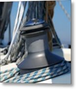 Winched Metal Print