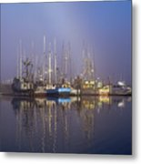 Winchester Bay Fishing Boats Metal Print