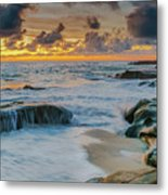 Wind And Sea Metal Print