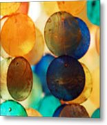 Wind Chimes Metal Print