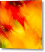 Wind In The Peaches Metal Print