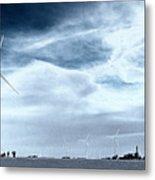 Wind Power Metal Print