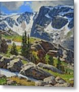 Wind River Range-wyoming Metal Print