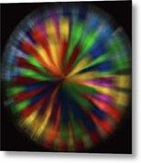 Wind Spinner 4 Metal Print