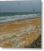 Wind Surfing In Flagler Metal Print