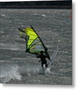 Wind Surfing On The Columbia Metal Print