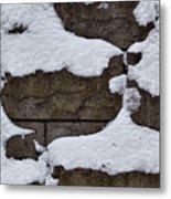 Windblown Snow Metal Print