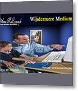 Windermere Medium Metal Print