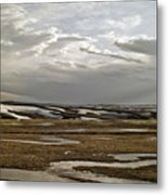 Winding Rivers Metal Print