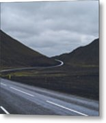 Winding Roads Metal Print