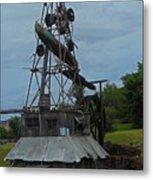 Windmill House 1 Metal Print