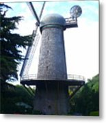 Windmill In Golden Gate Park Metal Print