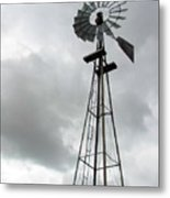 Windmill Metal Print