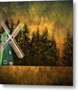 Windmill On My Mind Metal Print