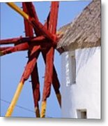 Windmill Strength Metal Print
