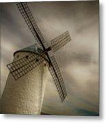Windmills At Campo De Criptana Metal Print