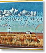 Windmills Of Texas Metal Print