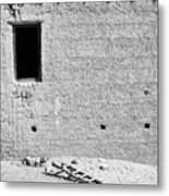 Window And Ladder, Shey, 2005 Metal Print