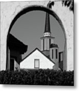 Window Arch Metal Print by CML Brown
