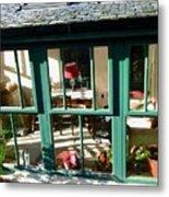 Window At Corcreggan's Mill Metal Print