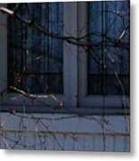 Window Blue - 2 Metal Print