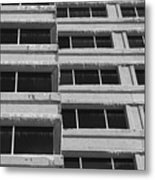 Window Cicles Metal Print