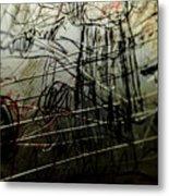 Window Drawing 02 Metal Print by Grebo Gray