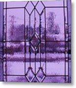 Window I Metal Print