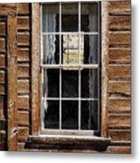 Window In A Window Metal Print