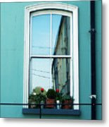 Window In Ennistymon Ireland Metal Print