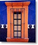Window In San Miguel De Allende Metal Print