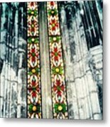 Window In The Lisbon Cathedral Metal Print