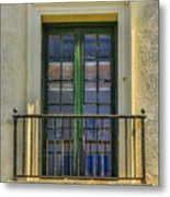 Window Of Amelia Metal Print