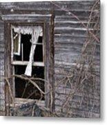 Window Of Loneliness Metal Print