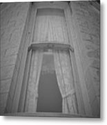 Window Of Mount Vernon Place Metal Print