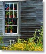 Window Of Olson House Metal Print
