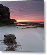 Window On Dawn Metal Print