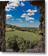 Window On The Past Metal Print
