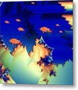 Window On The Undersea Metal Print