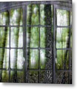Window On The Woods Metal Print